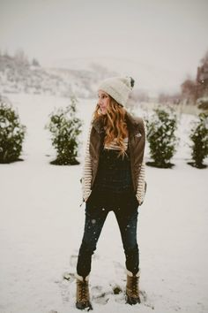 20 Ways to Look Stylish in Winter Boots 0fc8d793dcba