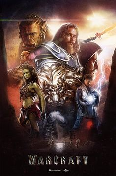 Duncan Jones just tweeted my completed Warcraft Poster art Take a closer look at the finished piece here: Thanks Duncan! https://twitter.com/ManMadeMoon/status/786344061145911296
