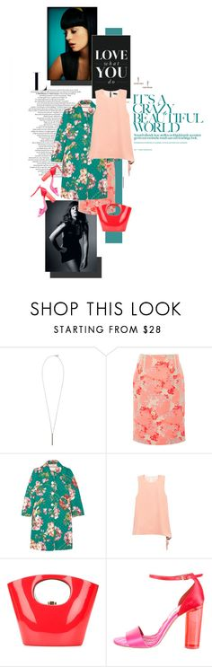 """""""Lilly Allen"""" by mathilda-moo ❤ liked on Polyvore featuring French Connection, Carolina Herrera, Gucci, J.W. Anderson, Rocio, STELLA McCARTNEY, Humble Chic, Spring, floralprint and gucci"""