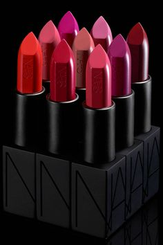 NARS introduces the new Audacious Lipstick Collection:
