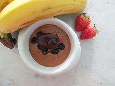 Pudín de chocolate saludable - Recetas Lily By Lily Ramírez