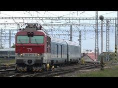 EC 170 Hungaria Budapest - Bratislava - Prag - Berlin mit ZSSK 350 in Bratislava Bratislava, Budapest, Trains, Vehicles, Youtube, Central Station, Prague, Vehicle, Youtube Movies
