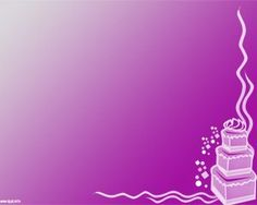 14 best happy birthday backgrounds for powerpoint images on free cake powerpoint template over pink background color toneelgroepblik Gallery
