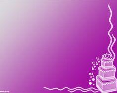 Celebration Cake Point Ppt Template Microsoft Free Birthday