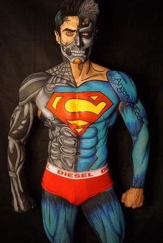 The Comic Book Makeup Art of Argenis Pinal   Oddity Central - Collecting Oddities