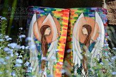 Anioł Wszystkich Kolorów Życia - na chrzest, komunię lub ślub