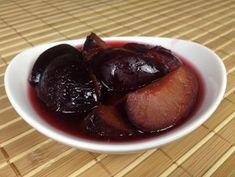 Pflaumenkompott einkochen - Rezept von Joes Cucina Verde Lassi, Plum, Pudding, Fruit, Desserts, Food, Kaiserschmarrn, Canning, Food Portions