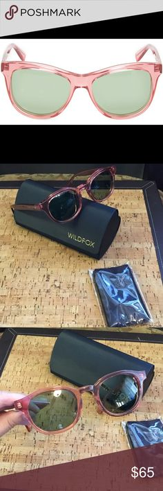 New Wildfox green caterer sunglasses Wildfox women sunglasses new never used in the box Wildfox Accessories Sunglasses