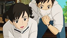 From Up on Poppy Hill | Studio Ghibli | (gif)