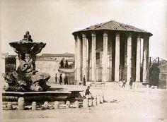Temple of Vesta, Rome 1860-1865