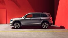 Experience the new GLB from Mercedes-Benz. Roof Rails, Compact Suv, Head Up Display, Mercedes Benz Cars, Rear Seat, Cladding, Studio, Motors, Studios