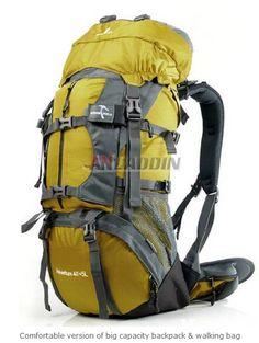 e636b06cae49 Comfortable version of big capacity backpack   walking bag