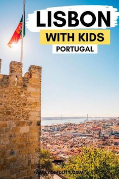 Looking for family attractions in Lisbon Portugal? Check out the best 13 things to in Lisbon with kids that the entire family will enjoy! Portugal Vacation, Portugal Travel, Spain And Portugal, Lisbon Portugal, Spain Travel, Travel Europe, Family Vacation Destinations, Travel Destinations, Travel With Kids