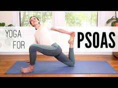 Yoga For Psoas | Yoga With Adriene - YouTube