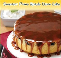 Sunsweet Prune Upside Down Cake