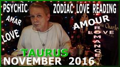 Here is your Taurus LOVE Reading for November 2016.