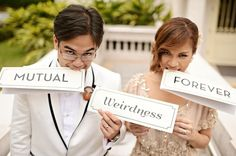 the sign says it all! @chestknots @jayjaylucas #weddings #weddingphotography #quirkyweddings