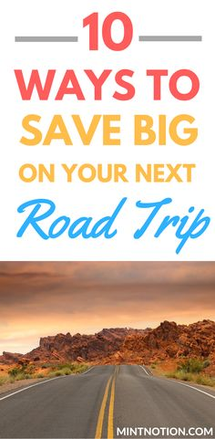 Summer road trips are a lot of fun and a great way to enjoy a vacation without breaking the bank. 10 ways to save money on your next road trip. This list has the BEST budget travel hacks to make the most of your road trip.