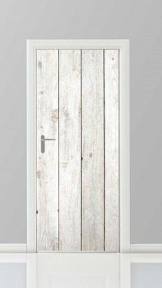 Cool, simple and low budget idea for your door. Door Stickers, Cupboard Storage, Baby Boy Rooms, Loft, House On Wheels, Home Bedroom, Decoration, Sweet Home, Doors