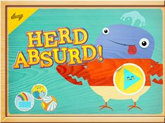 Herd Absurd! review  http://www.sweetkidsapps.com/herd-absurd-review/