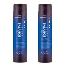 Get the Best Hair of Your Life - Joico Color Balance Blue Shampoo and Conditioner from #InStyle