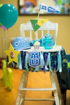 Fiesta de primer cumpleaños: Monsters University   Blog de BabyCenter