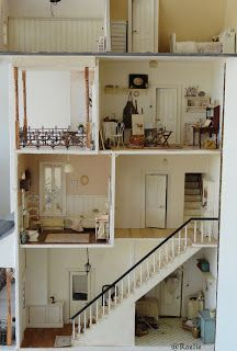 La petite Sofie I'm so in love with THIS doll's house!!! This is exactly how I want to do mine...❤️