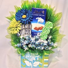 Mother's Day Candy Bouquet.  Purchase this item~ Visit  www.heartfeltcandygifts.com