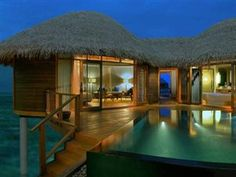 Constance Halaveli (Maldives) Water villa with private pool, $590/night