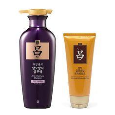 Ryo Jayang Yoon Mo 400 ml + Hanbit Camellia Seed Oil Treatment 180 ml Amore Ryoe #RYO