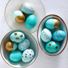 Huevos de pascua que completan la decoración de tu hogar