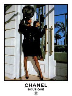 Ines de la Fressange, Chanel 1980s.
