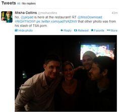 Tweet from Misha :)