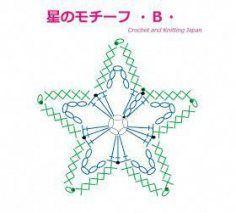 かぎ編み Crochet Japan : 星のモチーフの編み方・A・【かぎ針編み】How to Crochet Star Motif・A・ Crochet Star Patterns, Crochet Girls Dress Pattern, Crochet Earrings Pattern, Crochet Snowflake Pattern, Crochet Beanie Pattern, Crochet Stars, Crochet Snowflakes, Crochet Jacket, Crochet Flowers