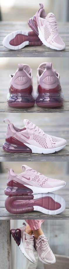 info for e3551 51161  Nike  Air  Max 270  women Rose pâle Rose élémentaire Blanc