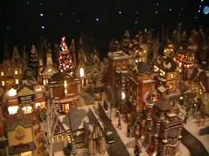 Janets Christmas Village 2010