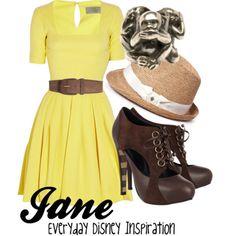 Jane inspired from Tarzan