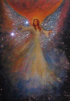 Angel Angel Halloween Costumes, Urbane Kunst, Angel Artwork, Art Carte, Angels Among Us, Angel Pictures, Angel Images, Painting Inspiration, Artwork Prints