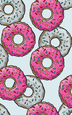 Donuts Art Print by Fin3e | Society6