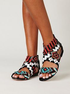 beaded sandals for another bright season ahead!