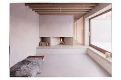 Fireplace living room interior design architecture Atrium House: Scandinavian Architecture — UP KNÖRTH Casa Atrium, Atrium House, Scandinavian Architecture, Interior Architecture, Interior Design, Minimal Architecture, Design Art, Interior Plants, Design Interiors