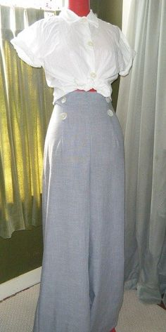 PEARL   Vintage Style Pin Up Empire Waist  by timemachinevintage, $82.00
