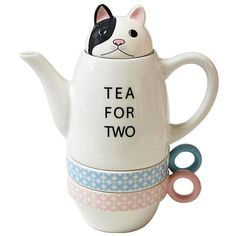 tea for two - love the disgruntled kitty