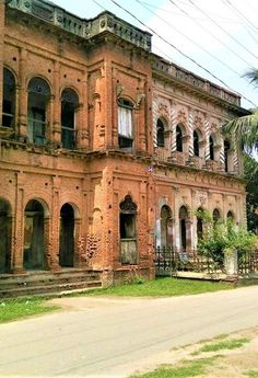 Panam City is one of the 100 Destroyed Historic Cities in the World. World Monument Fund enlisted Panam Nagar in the list of 100 worl. Archaeological Discoveries, Archaeological Site, Ruined City, Durga Puja, Ancient History, Asia, Rapunzel, Poses, Mansions