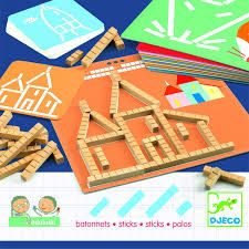 Djeco - Eduludo Sticks - Toys and Games Ireland Interactive Activities, Educational Games, Problem Solving, Game Stick, Lateral Thinking, Multiplication And Division, Picture Cards, Addition And Subtraction, Perfect Game