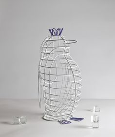 Fantastico Domestico Penguin Basket design by Seletti