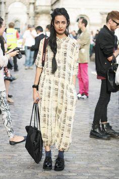 #Nadia Sarwar #FrouFrouu #StreetStyle