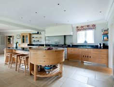 We specialise in creating beautiful bespoke kitchens which are entirely tailored to you. We are always delighted when clients tell us how much they are still loving the kitchen we created for them, sometimes decades on. Kitchen Units, New Kitchen, Kitchen Ideas, Kitchen Furniture, Kitchen Interior, Bespoke Kitchens, Modern Traditional, Round Corner, Interiors