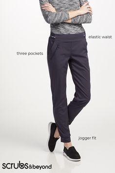 69e07fb9696 Grey's Anatomy Spandex Stretch 3 Pocket Cargo Jogger Scrub Pants | Scrubs &  Beyond
