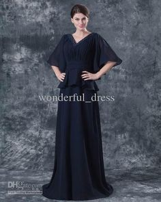 Wholesale Mother of the Bride Dresses - Buy 2014 Chiffon V Neck V Back Plus Size Mother of the Bride Dresses Wedding Dress Party Dress Evening Dresses Cocktail Prom Dress 16, $125.0 | DHgate